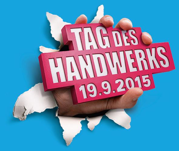 Tag des Handwerks – 19.09.2015