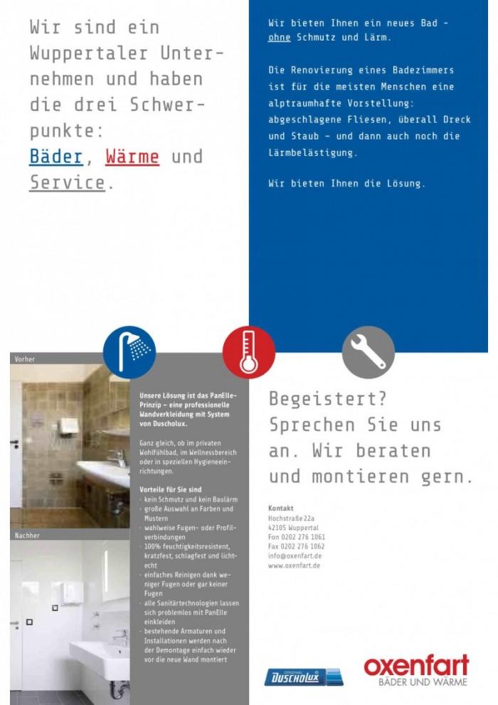 Wir bieten Ihnen ein neues Bad – OHNE Schmutz und Baulärm