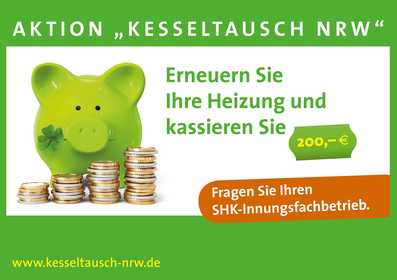 Kesseltausch NRW 2016 – Aktionszeitraum: 01.03. bis 30.06.2016